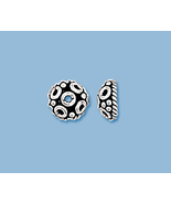 (4) NEW STERLING SILVER  BALI STYLE  BEAD CAPS - $9.29