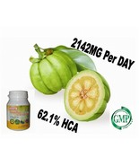 100x Natural Garcinia Cambogia 2142mg/daily Weight Loss Diet Pills Fat B... - $11.99