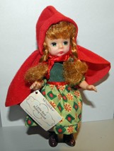 2002 McDonalds Madame Alexander Happy Meal Little Red Riding Hood Doll - $15.00