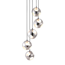 Zuo Meteor Shower Ceiling Lamp Chrome - $680.00