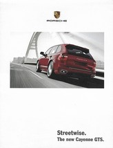 2008 Porsche CAYENNE GTS sales brochure folder US 08 - $10.00