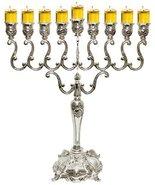 Majestic Giftware MN-HA200 Hanukkah Menorah, 14-Inch, Silver Plated [Misc.] - $40.59