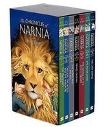 *NEW* THE CHRONICLES OF NARNIA BOXED BOX SET BY C. S. LEWIS 7 LARGE SOFT... - $48.30