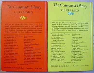 Rip Van Winkle LEGEND OF SLEEPY HOLLOW & Tom Sawyer DETECTIVE Companion Classics