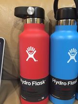 18oz or 21oz Hydro Flask Wide Mouth Red  blue yellow Cobalt Lime Green authentic image 5