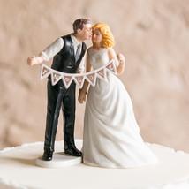 Shabby Chic Romantic Couple Wedding Cake Topper Custom Hair Modern Gift ... - $23.98+