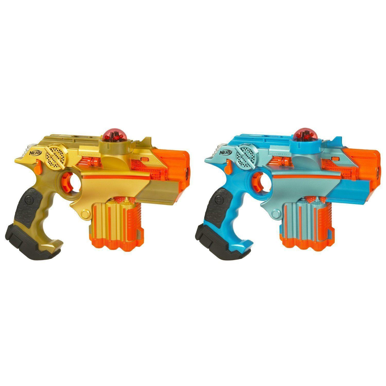 Nerf Hasbro Lazer Tag Phoenix LTX Tagger 2 Pack laser realistic light sound NEW