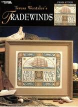 Teresa Wentzler's Tradewinds Leisure Arts Leaflet 3216 NOS Nautical Ship - $37.95