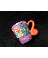 new orleans coffee tea mug jazzy colorful happy - $18.00