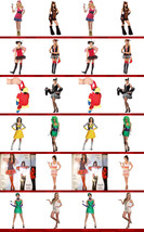 womans costumes Pink Highlighter Adult Costume NEW - $15.98