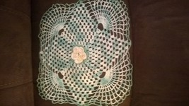 collectible hand crochet doily - $3.50
