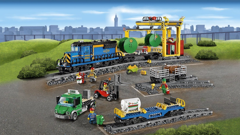 LEGO City 60052: Cargo Train Kids Children Gift Building ...