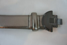 Unbranded Petite Belt Sz 12P Silver Nickel Man Made Material 5 Hole - $19.71