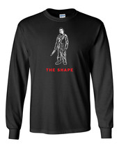 246 The Shape Long Sleeve Shirt horror halloween movie scary All Sizes/Colors - $18.00