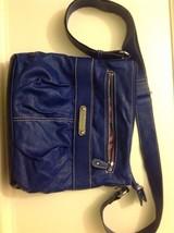 Franco Sarto Crossbody Royal Blue PVC  Handbag - $39.60