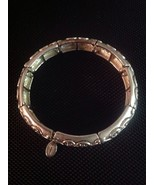 Hearts On This Lovely Stretch Silver Bracelet By Cookie Lee - $13.37