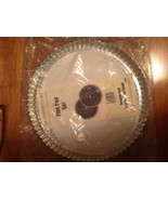 "Pampered Chef Lot of (2) 10"" Metal Flan Pan Tart Pie Pans with Recipes - $19.95"
