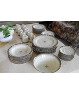 61 PC Mikasa GRANDE IVORY TROPEZ PATTERN, SVC FOR 10!!  DISCONTINUED AND... - $450.00