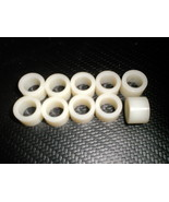"Plastic 3/8""  Grommets / Bushings / Spacers 9/16"" O.D 3/8"" I.D  Pack 10 ... - $5.87"