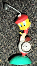 Westclox Looney Tunes Tweety Bird Miniature Clock #32353 - $14.85