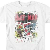 Batman Joker T-shirt SuperFriends retro 80s cartoon DC white graphic tee DCO135 image 1