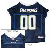 San Diego Chargers Dog Jersey XS * Blue Home Game Colors NFL Football Pe... - €21,87 EUR
