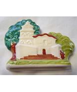 Franciscan Mission by Franciscan Ceramics  - Franklin Mint Miniature Tr... - $14.95