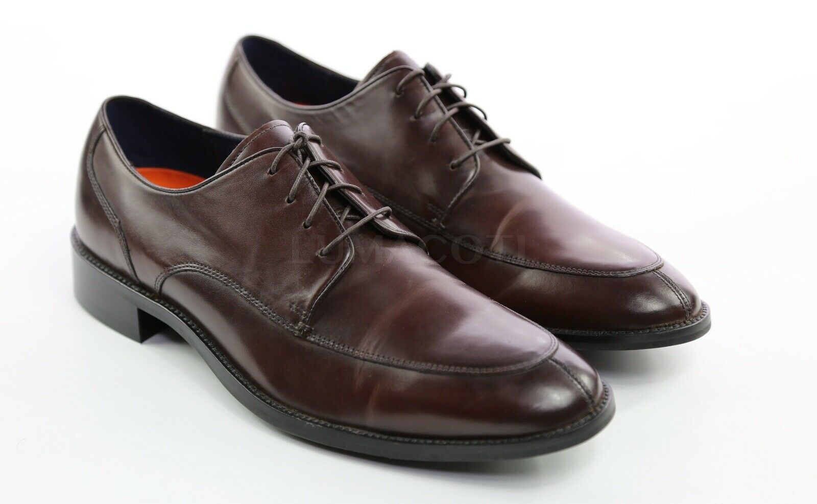 Mens Cole Haan Lenox Hill Split Toe Oxfords - Dark Brown Size 10.5 [CH11628]