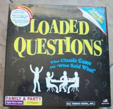 loaded question game new sealed family and party game - $69.29