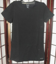 2 womens top t shirt calvin klein size small pink and black new with tags - $27.00