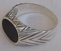 Black surface man ring 2 thumb200