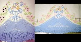 Southern Belle -Crinoline Lady pillowcases crochet embroidery pattern mo... - $5.00