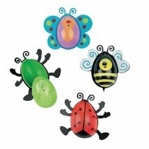 Bug Shaped Plastic Easter Eggs (Set of 12 Eggs) - $15.19