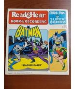 Peter Pan Super Adventures Batman Read & Hear Book (Just Book No Record) - $8.42