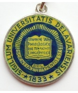 UNIVERSITY of DELAWARE LOGO Silver Enamel Trave... - $45.64