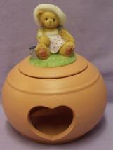 ENESCO CHERISHED TEDDIES BEAR CANDLE HOLDER HEA... - $10.84