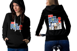 the secret life of pets 2 movie Hoodie Classic Women Black and White - $27.99