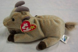 "TY Beanie Baby GOATEE THE GOAT 6"" Plush STUFFED ANIMAL Toy NEW - $15.35"
