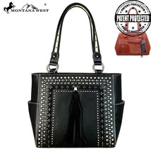 Montana West Laser Cut-out Tribal Pattern Concealed Carry Handgun Tote Handbag - $62.99