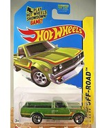 2015 Hot Wheels #125 HW Off-Road/Hot Trucks DATSUN 620 Green Variation w... - $10.00