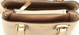 Michael Kors Adele Pastel Pink Leather Shoulder Messenger Bag Handbag image 5