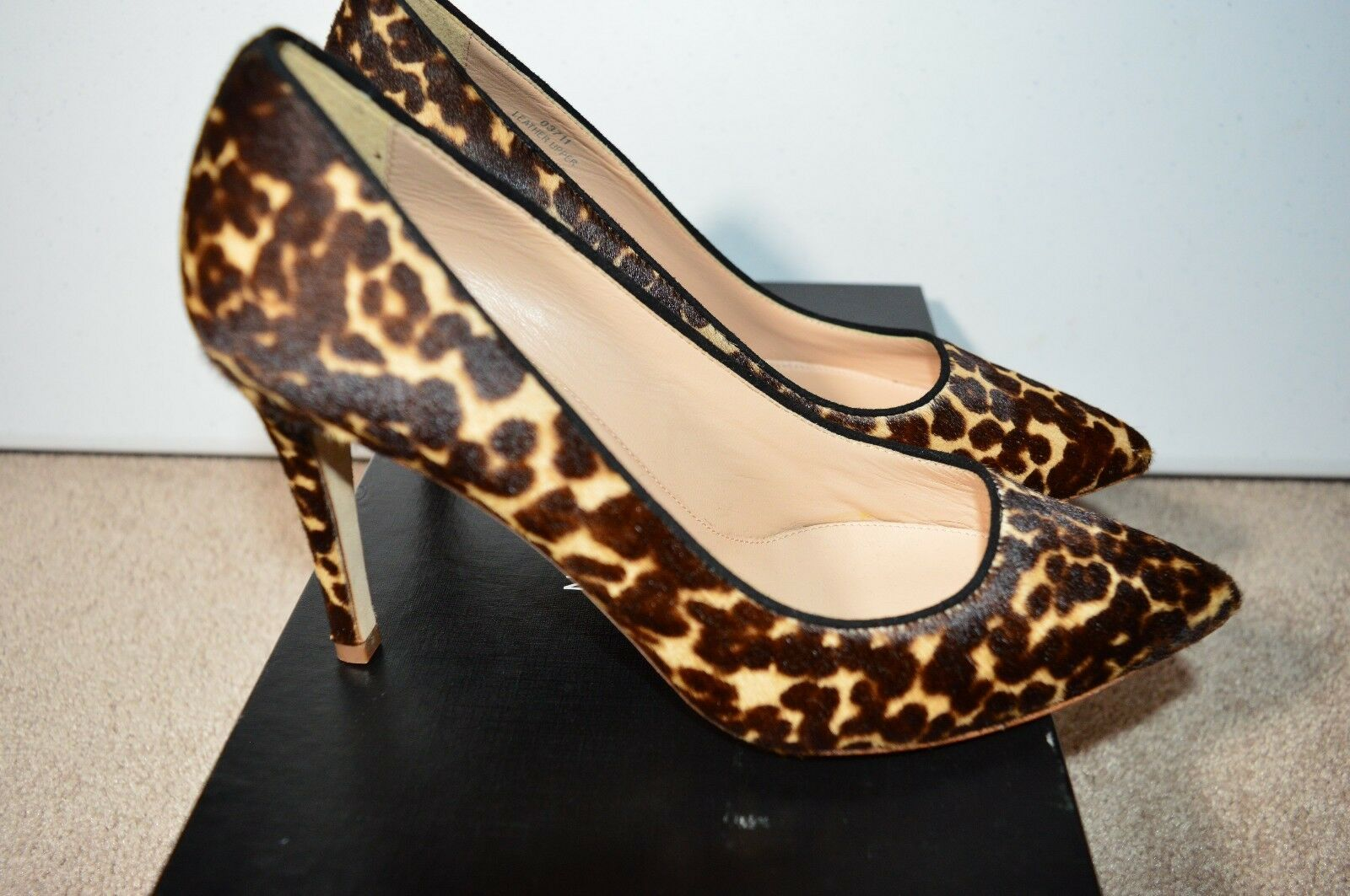 Primary image for J CREW Collection Everly Calf Hair Pumps Heel Camel Pony Size 6.5 $350 NEW