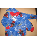 Spiderman Flannel Pajamas Size 3 Child Marvel Comics Spidey NWT Boys - $9.93
