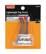 "BullDog Hardware Lightweight Peg Hooks 2 Inch Fits 1/4"" or 1/8"" Peg Holes - $1.95"