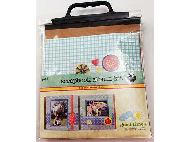 "SEI Scrapbook Album Kit ""Good Times"" #7-8639"