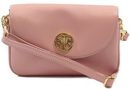 NWT TORY BURCH Robinson Crossbody Clutch Bag, Soft Pink - $177.65