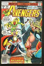 AVENGERS #166 Marvel Comics Shooter BYRNE Marcos 1977 1st print & series - $8.91