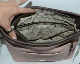 Montana West Collection MW678G 8284 Medium Faux Leather Pink Conceal Carry Purse image 3