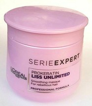 L'Oreal Professionnel Serie Prokeratin Liss Unlimited Smoothing Masque 2... - $23.75