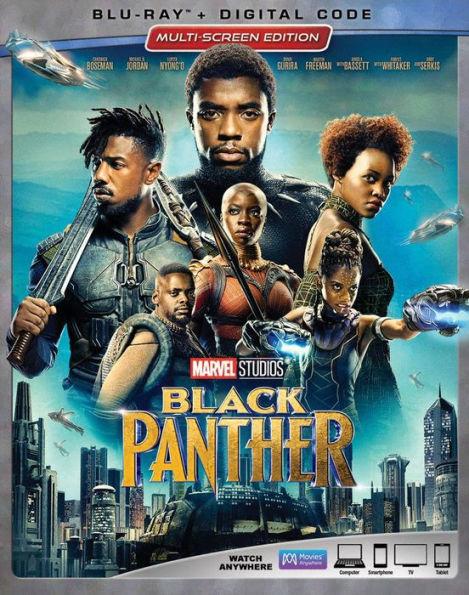 Black Panther [Blu-ray+Digital, 2018]